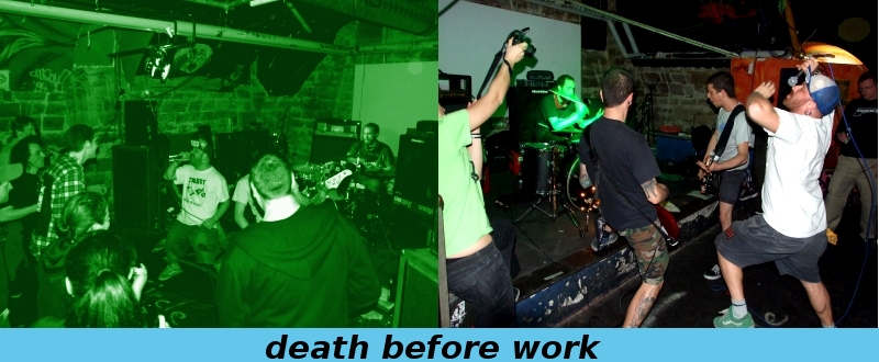 death before work aus milano im kessel/offenburg